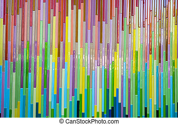 background - full color glass bokeh stripes