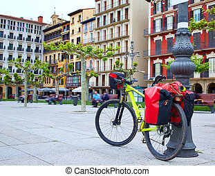 Pamplona Plaza Castillo Square Way Saint James - Pamplona...