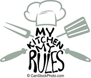 härskar, min, Kök