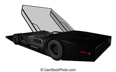 Future sport car - Creative design of Future sport car