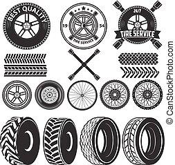 tire service label - car service labels. tire service label....