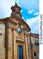 Santiago de Compostela Santa Maria del Camino
