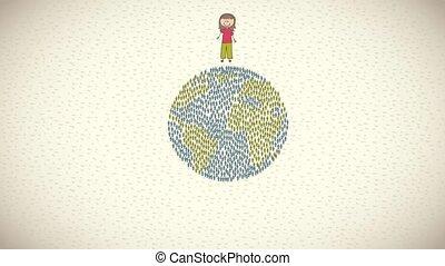 Children Video animation - Children aroound the world Video...