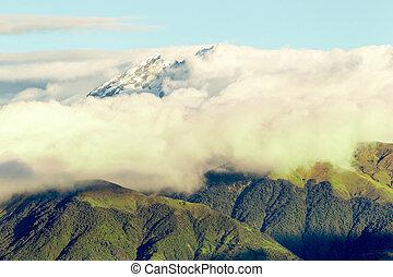 El El Altar Volcano - Los Alters Volcano In Ecuador Shot...