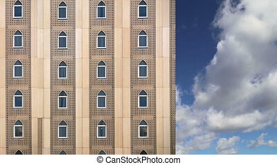 building in a Arabic style, Dubai - Facade of a building in...