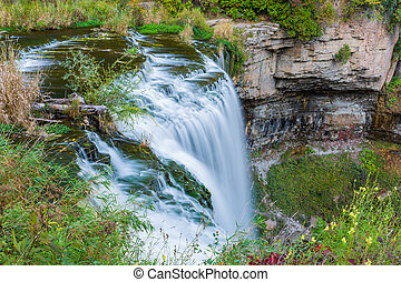 Webster's falls in Hamilton - Webster's falls in...