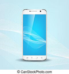 Phone Design concept - Realistic futuristic phone design...