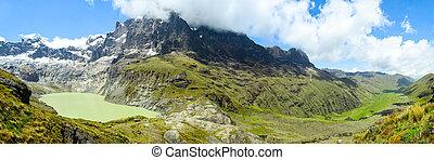 El El Altar Volcano Panorama - El Altar Volcano Panorama Esw...