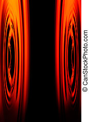 Stereo Sound System - Abstract Shot Of Stereo Speakers...