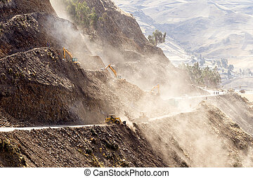 High Altitude Road Construction - Road Building In...