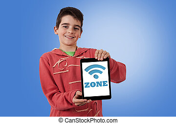 child sign tablet with wi-fi