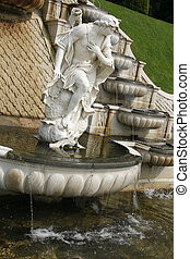 Antique cascade - Part of the reconstruction of the 17th...