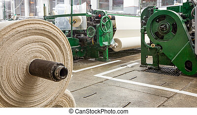 Cotton Gauze Factory - Textile Factory With Roll In...