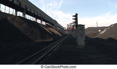 Rails and coal - Coke and Chemicals plant cooler