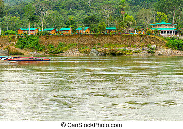 Amazonian Lodge In Ecuador - Amazonian Lodge On Napo River...