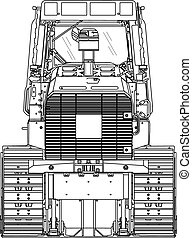 tracked - line drawing tracked