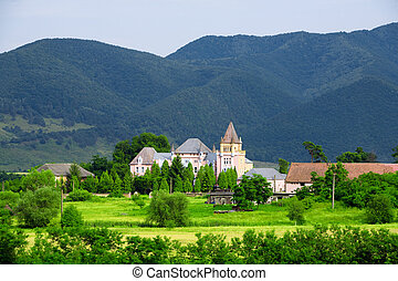 Kendeffy Castle In Transylvania Romania - Medieval Castle...