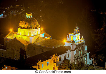Guapulo Cathedral In Quito - The Sanctuary Of Guapulo Which...