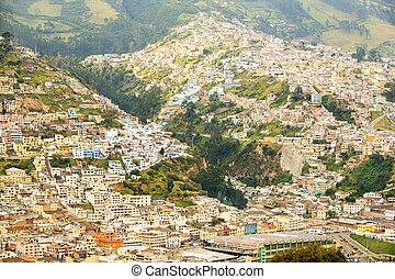 Quito City Neighborhood - Modest Neighborhood In The East...