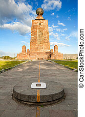 Equator Line E - The 30 Meter Tall Monument Built Between...