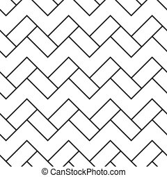 Cobbles grid stripped seamless pattern - Cobbles grid...