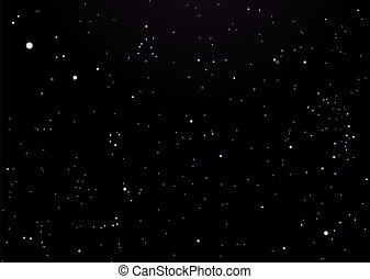Night sky dark with stars - Night sky background with...