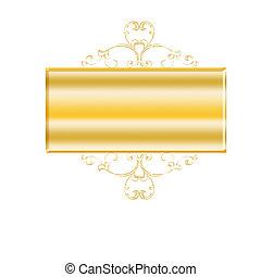 gold blank