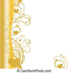 golden border