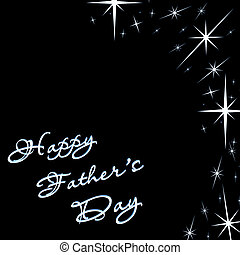 father\'s day - happy father\'s day with fancy font and...