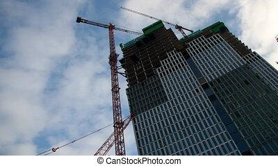 Construction site - Time lapse