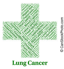 Lung Cancer Indicates Cancerous Growth And Affliction - Lung...