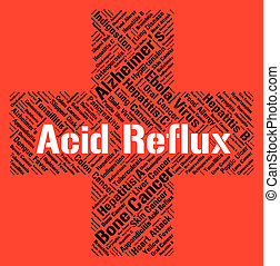 Acid Reflux Represents Poor Health And Affliction - Acid...
