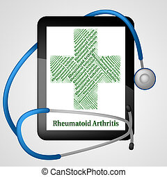 Rheumatoid Arthritis Shows Ill Health And Acute - Rheumatoid...