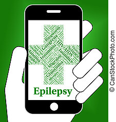 Epilepsy Illness Represents Poor Health And Affliction -...
