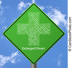 Enlarged Heart Represents Poor Health And Affliction -...