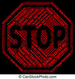 Stop Human Trafficking Indicates Forced Marriage And Crime -...
