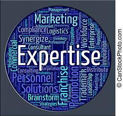 Expertise Word Means Education Capabilities And Ability