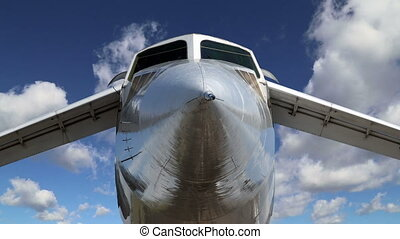 Tupolev Tu-144 (NATO name: Charger) was a Soviet supersonic...
