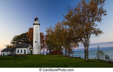 Autumn On The Great Lakes Coast - Point Aux Barques...
