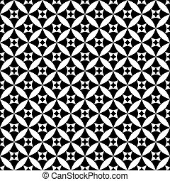 Black-white seamless pattern