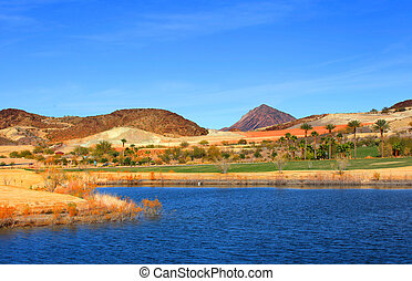 Golf course - Beautiful golf Course near Lake Mead in Nevada