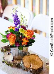 Floral Wedding Reception Centerpieces - Wedding diy...