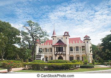 nakornpathom, thai's, (sanamchan, palacio, rey, 08, sep,...