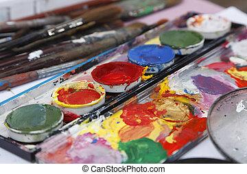 Painter\'s desk