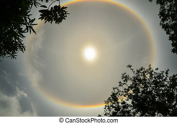 Sun Halo in Thailand