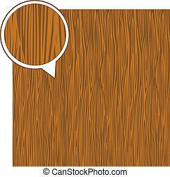 Wood texture background - light brown. Vector stock.