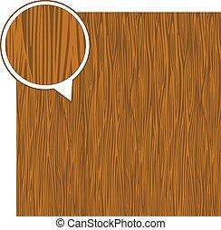 Wood texture background - light brown. Vector stock.