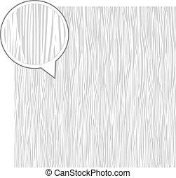 Wood texture background - light gray.  Vector stock.