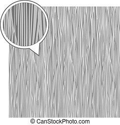 Wood texture background - dark gray. Vector stock.