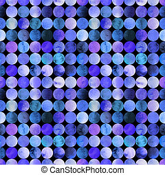 Abstract watercolor pattern with circles - Abstract...